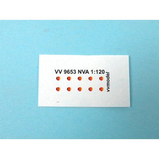 vv model TT9653 NVA-DDR Armee Decal  Massstab 1:120