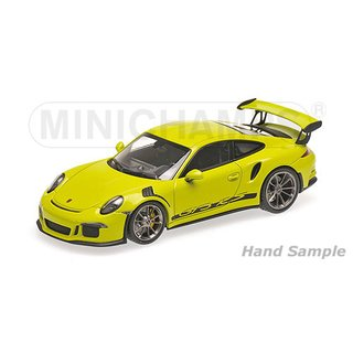 minichamps 155066222 porsche 911 gt3 rs 991 2013. Black Bedroom Furniture Sets. Home Design Ideas