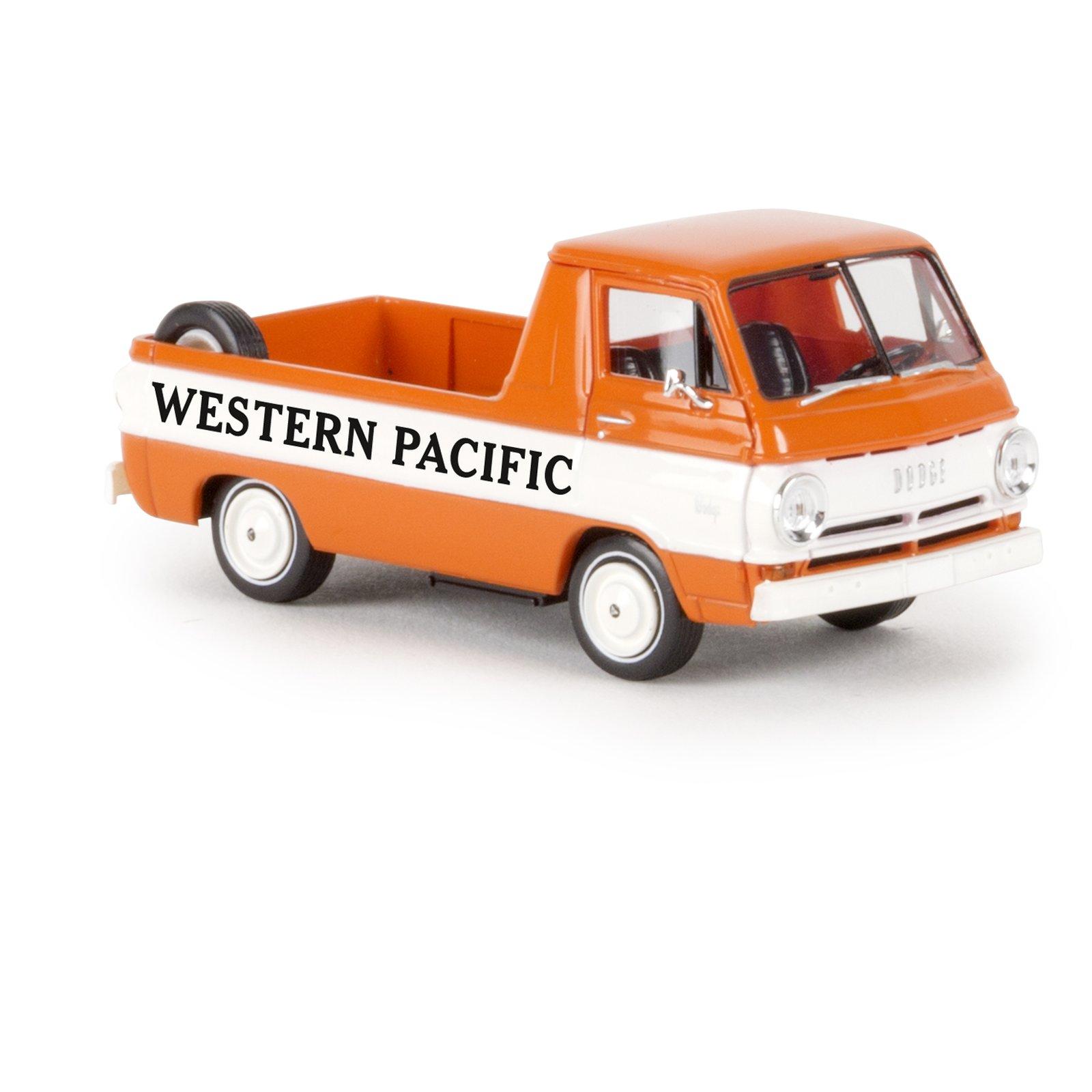 brekina 34343 dodge a 100 pickup western pacific ma stab 1 87. Black Bedroom Furniture Sets. Home Design Ideas