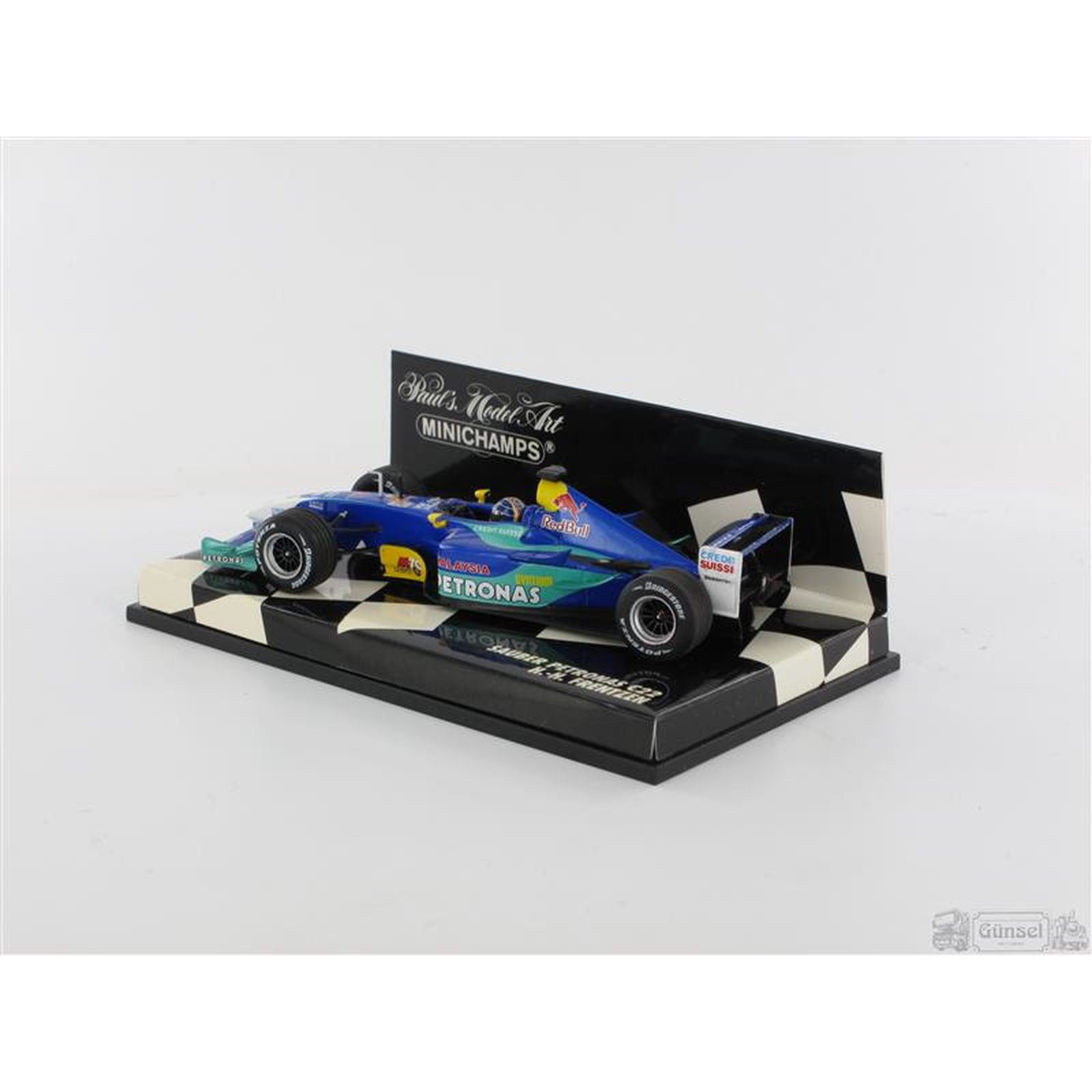 minichamps 400030010 sauber petronas c22 h h frentzen 2003 massst. Black Bedroom Furniture Sets. Home Design Ideas