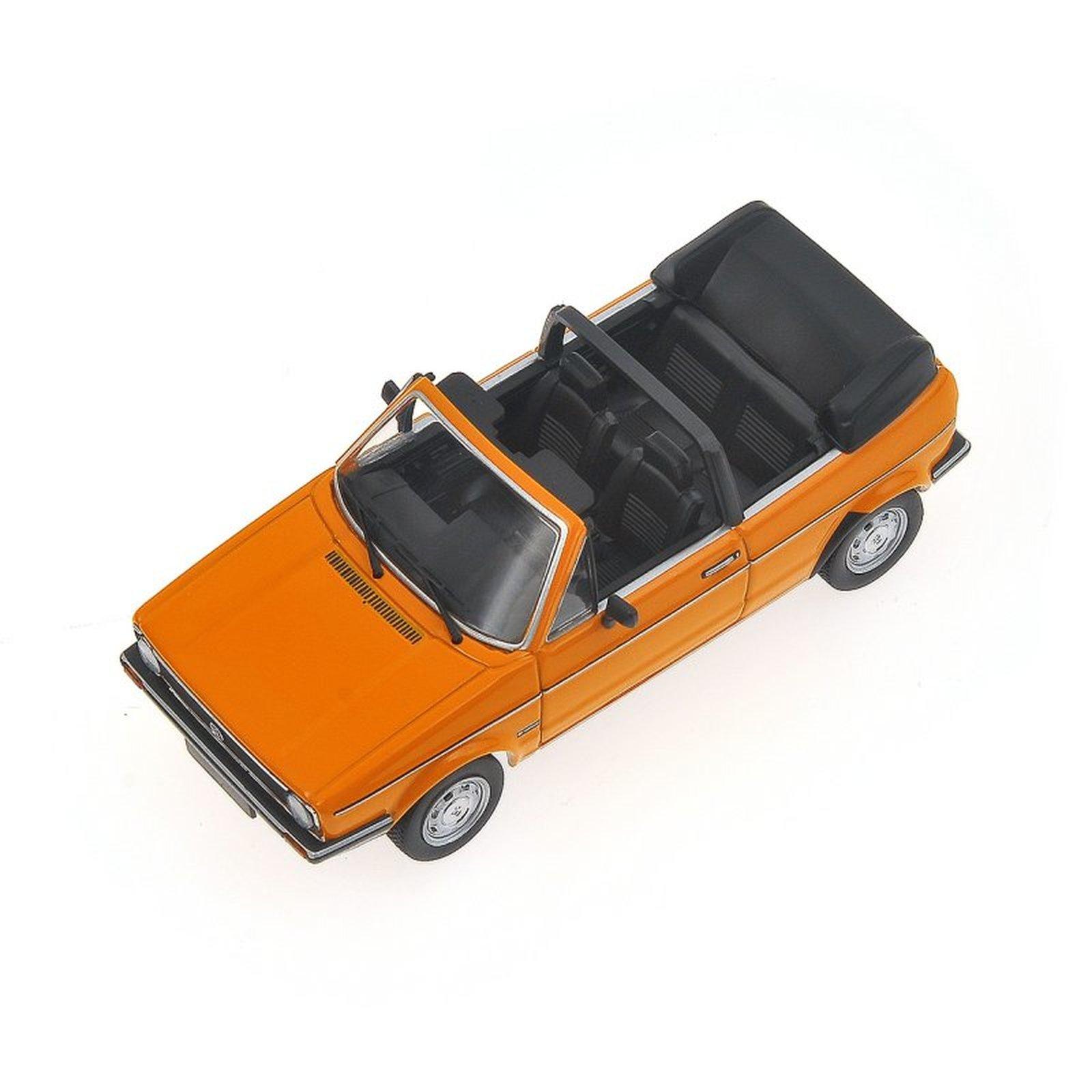 minichamps 400055131 vw golf i cabrio orange 1980. Black Bedroom Furniture Sets. Home Design Ideas
