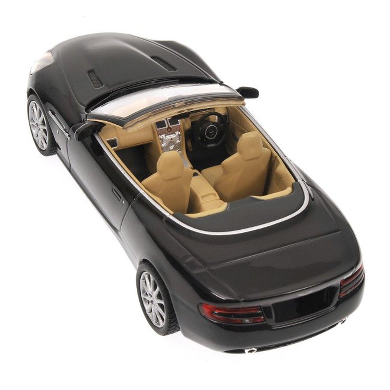 minichamps 400137330 aston martin db9 volante schwarz. Black Bedroom Furniture Sets. Home Design Ideas
