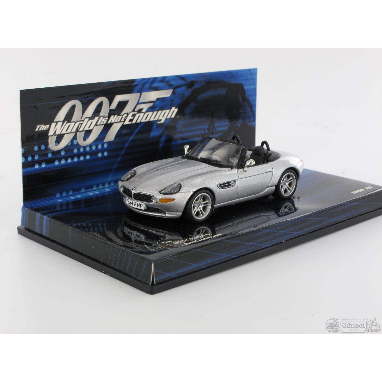 Bmw Z8 Bond: Minichamps 436028730 BMW Z8 JAMES BOND 1999 Die Welt Ist