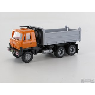 IGRA MODEL 66818001 Tatra T815 6x6 S3, orange/grau Maßstab 1:87