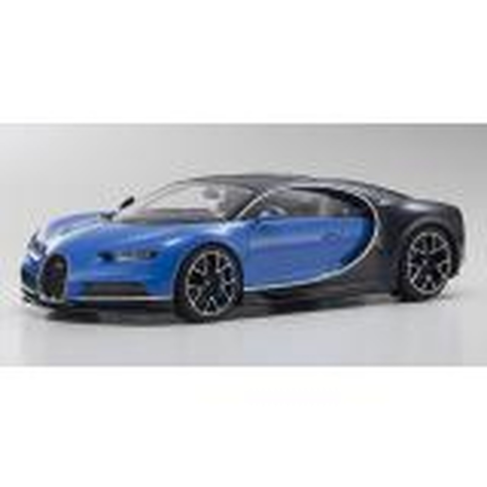 kyosho kyo9548bb bugatti chiron in french racing blue. Black Bedroom Furniture Sets. Home Design Ideas