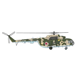 Herpa 580373 Mi-8MT Russian AF - 339th Air Base, Torzhok Maßstab: 1:72
