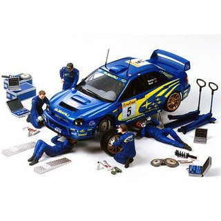 Tamiya 300024266 1:24 Figuren-Set Rally Mechan