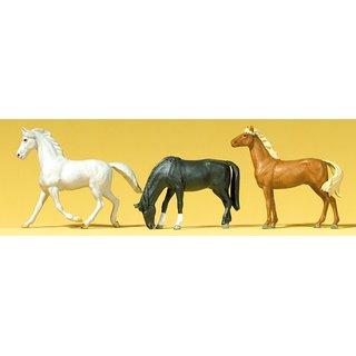 preiser 65323 pferde massstab 1 43. Black Bedroom Furniture Sets. Home Design Ideas