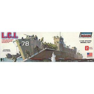 Infanterie-Landungsboot LINDBERG 570404 1//160 LCI