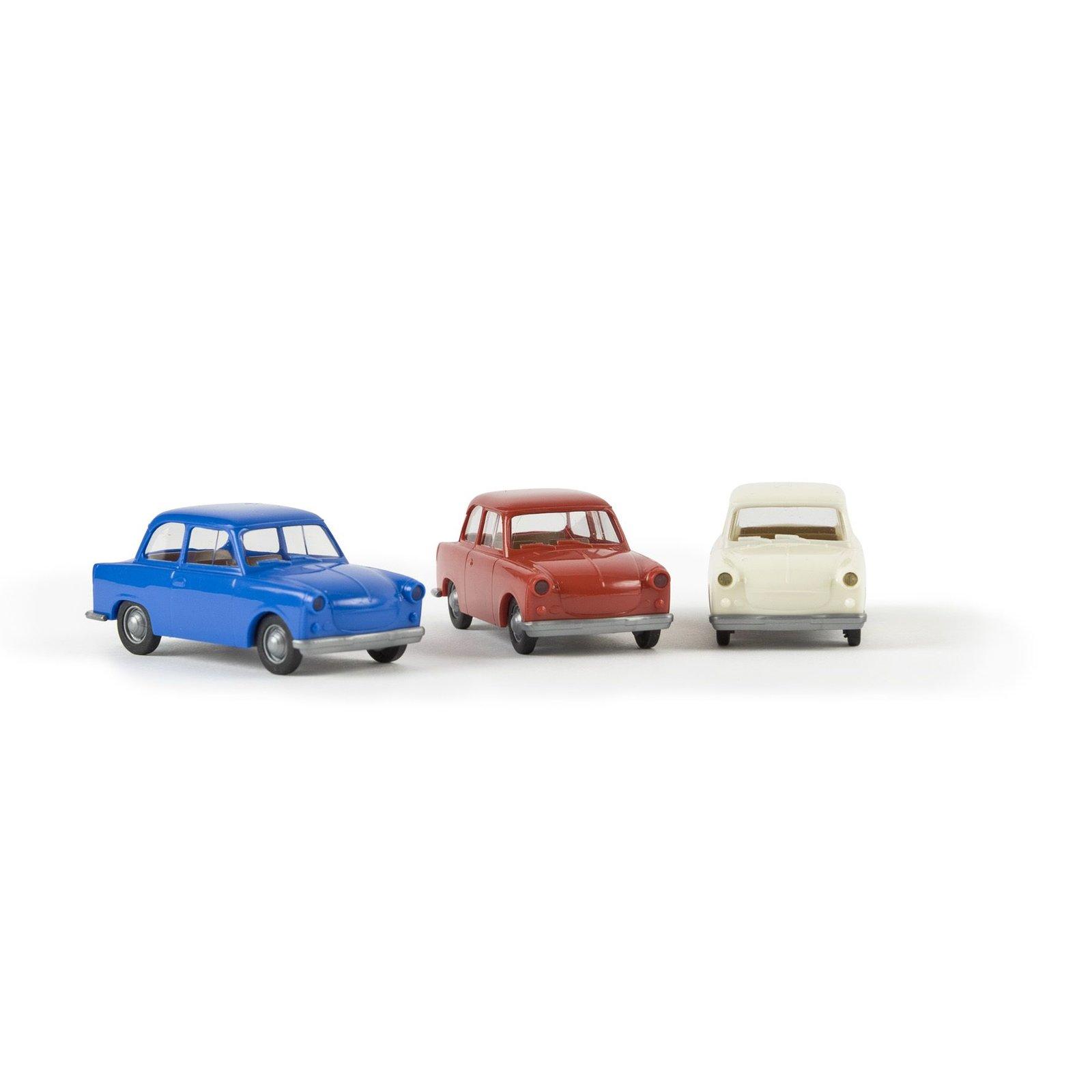 1//87 Brekina Trabant P50 rot 27516