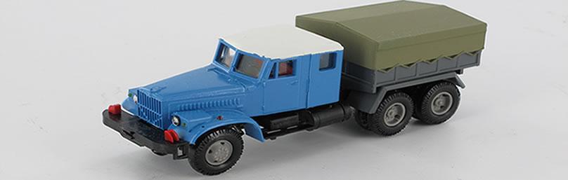 RK-Modelle® 130920-bl KrAZ 258 Schwerlast-ZM
