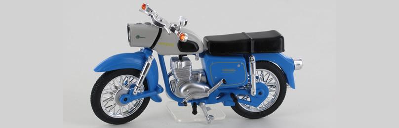 IXO 24109-B MZ ES 150, blau/beige, 1962-78 Ma