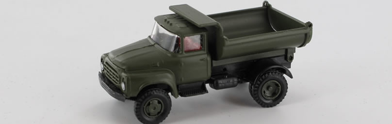RK-Modelle® TT0005-B ZIL130 Mil.-Rundkipper M