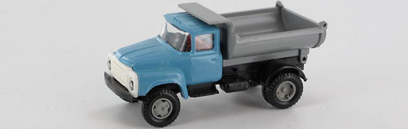 RK-Modelle® TT0005 ZIL130 Rundkipper Massstab