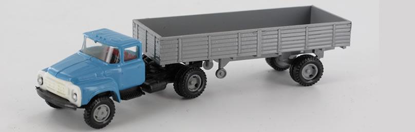 RK-Modelle® TT0013 ZIL130 Pritschen Sattelzug