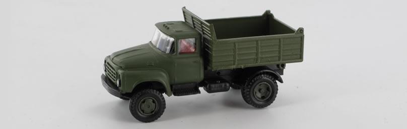 RK-Modelle® TT0014-B ZIL130 Mil.-Kipper (ecki