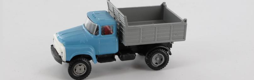 RK-Modelle® TT0014 ZIL130 Kipper (eckige Muld