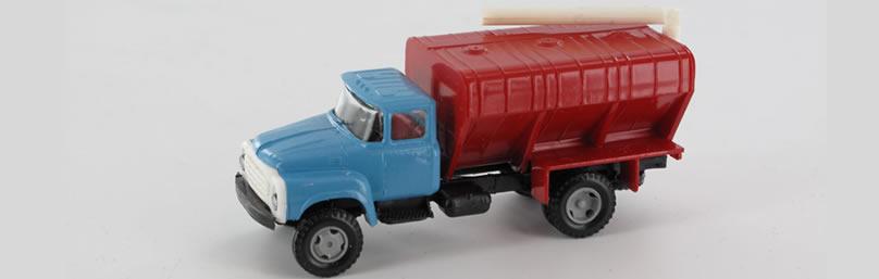 RK-Modelle® TT0015 ZIL130 Silofahrzeug Massst