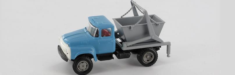 RK-Modelle® TT0016 ZIL130 Absetzkipper Massst