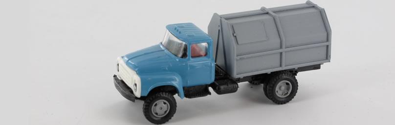 RK-Modelle® TT0018 ZIL130 Müllwagen Massstab: