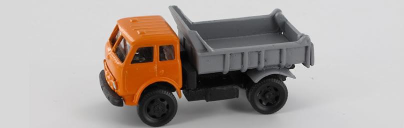 RK-Modelle® TT0022-or MAZ 503 Hinterkipper Ma