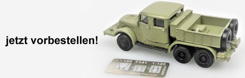 vv model TT0185 Tatra141 Schwerlast-ZM Pritsc