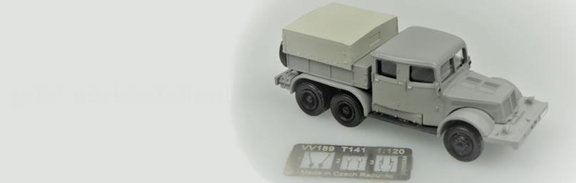 vv model TT0186 Tatra141 Schwerlast-ZM Pritsc